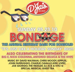 Riddler Returns to DJais in Belmar, NJ for Bondage