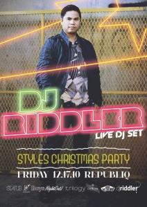 Riddler Thrilla in Manila Styles Ent/Status Mag Mixtape